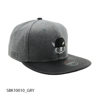Harga Snapback Kids - Cat - Grey