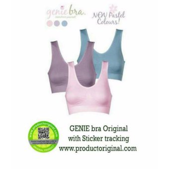 Harga Beautylover Genie Bra Pastel Made In Japan - 1 Box isi 3 Pcs