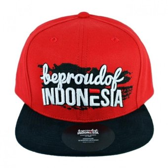 Snapback Hip Hop Hat Urban Red