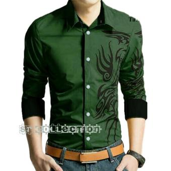 Harga SR Collection Marcel Shirt - Army