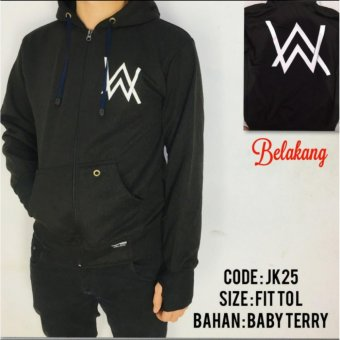 Harga Jaket hoodie sweater alan walker zipper best seller