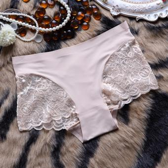 Hailadies Gstring Wanita Seksi Aksen Renda Kode Nadira Pink Fanta Source · AITIA 8803 celana dalam wanita warna cream panties