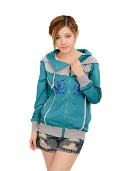 Harga Vrichel Collection - Jaket Wanita Hoodie (Turkish)