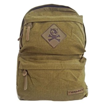 Harga Bag & Stuff Canvas Respect Backpack - Khaki