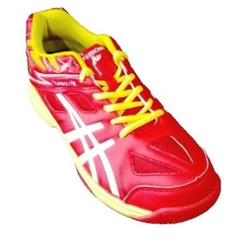 Harga Professional Turbolite Volleyball shoes-Sepatu Bola voli-Red/Yellow
