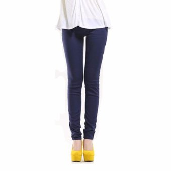 Harga Plus Size Casual Pants Navy