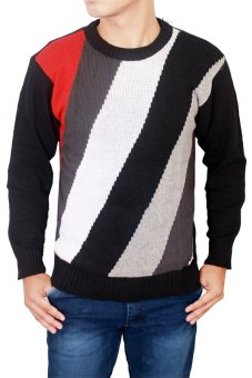 Harga Gudang Fashion - Sweater Distro - Hitam