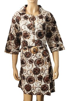 Harga Batik Nandhut Dress Batik 248 - Multicolor