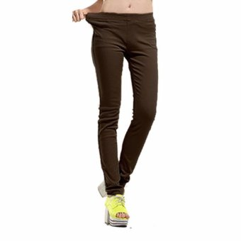 Harga Comfy casual pants brown