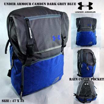 Harga BM Tas ransel under armour camden dark grey blue free rain cover