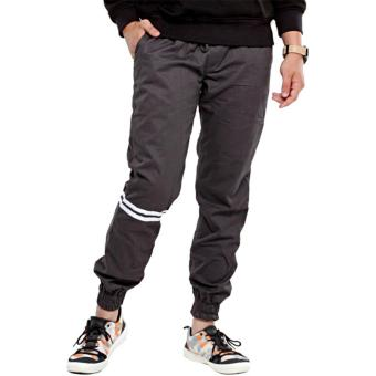 Harga Pieter Jackson New Long Joger Chino Pants With Strips (Grey)