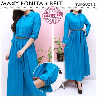 Harga Suki Dress Maxi Bonita - Turkis