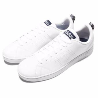 Harga Adidas Neo Advantage Clean White List Navy Sneakers Shoes