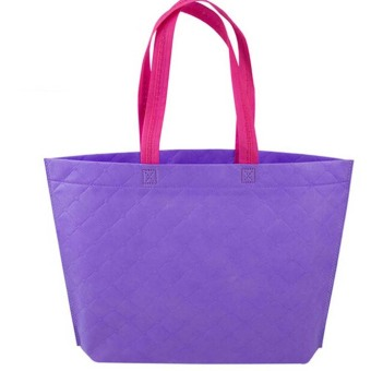 Harga Velishy Shopping Bag Eco Travel Reusable Bags Purple - Intl - Intl