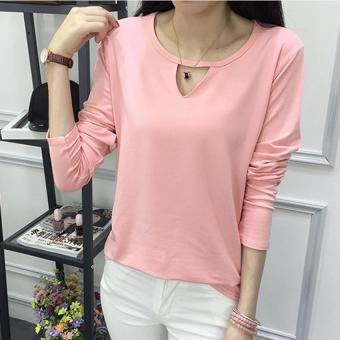Harga Labelledesign Blouse Laticy LongSleeve - Peach