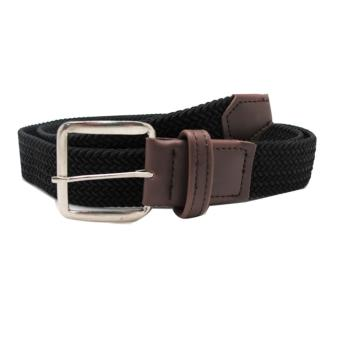Harga Fon Belt Sherman Thin Buck Black