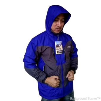 Harga National Geographic Jaket Gunung (Hiking) (Blue)