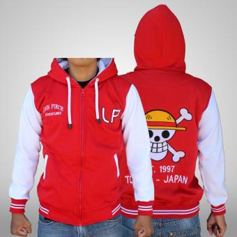 Harga Jaket Anime One Piece LP Merah