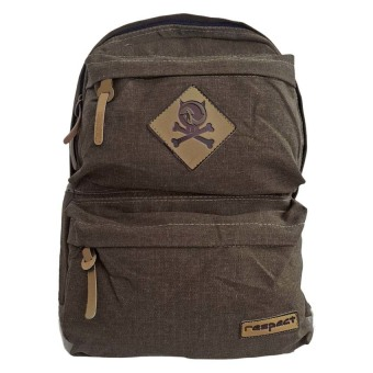 Harga Bag & Stuff Canvas Respect Backpack - Coffee