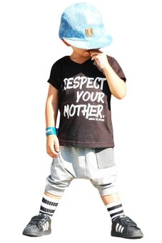 QuincyLabel Print T-shirt Respect Your Mother - A-160 - White