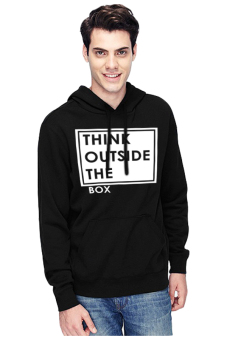 Harga QuincyLabel Pullover 7 Think Outside-Black