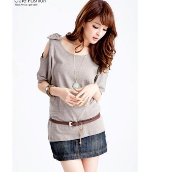 Harga mamamia collection - blouse ribbon misty