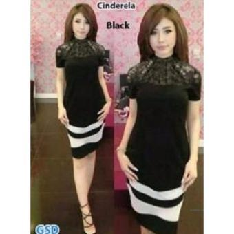 Grosir Dress-Cindera Black