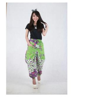 Harga 1x SB Collection Celana Panjang Aladin Batik Greentea-Hijau