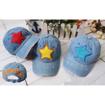 Import Topi Jeans Star untuk anak