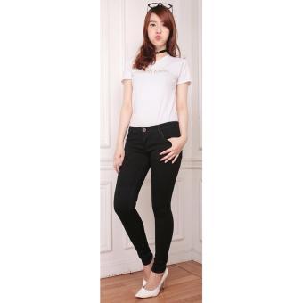 Bandingkan Toko Nusantara Jeans Celana Panjang Wanita Model Skinny Street Berbahan Soft Jeans Bagus Murah