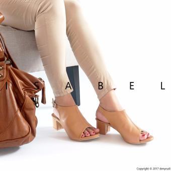 Flash Sale Isabel - Sepatu Wanita Hak Tahu SELENA Heels - Coklat belanja murah
