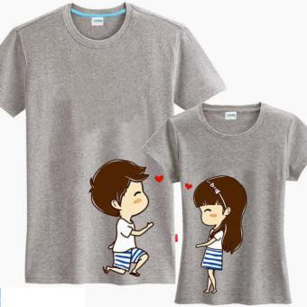 Jakarta Couple - Kaos Couple Say Love U Misty Kaos Terbaru Kaos Pasangan T-Shirt