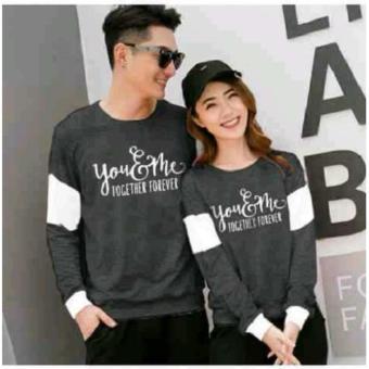 Jakarta Couple - Sweater Couple Forever / Sweater Couple Terbaru / Couple Murah / You Me
