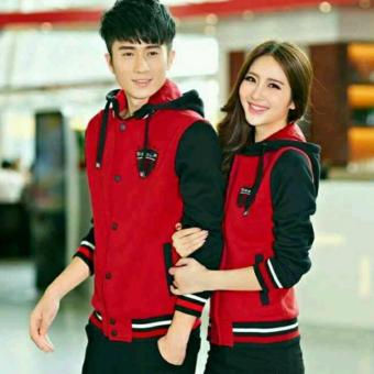 Jaket Couple SPORT ( Merah )