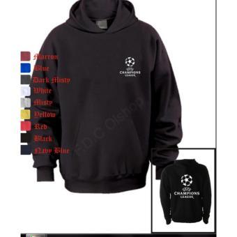 Jaket Hoodie Liga Champions/ Champions League Hitam