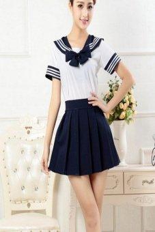 Cek Harga Baru Gadis Sekolah Jepang Pakaian Baju Seragam Pelaut