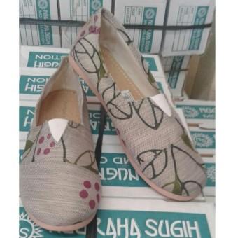 Jayatri shoes - sepatu wanita slip on sejenis wakai