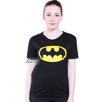 JCLOTHES Kaos Cewe / Tumblr Tee / Kaos Wanita Batman - Hitam