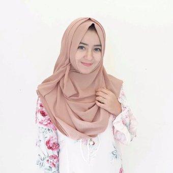 Jilbab Pashmina Instan Lipit Kerudung Hijab Instan .