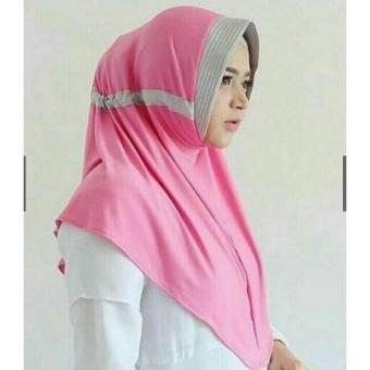 Jilbab Serut Kombi