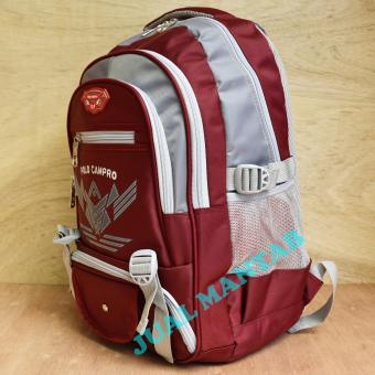 Kelebihan Real Polo Tas Ransel Laptop Waterproof 8315 Coffee Free ... f5ef1b6488523