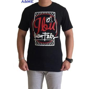 A&ME Kaos Distro T''shirt Distro Fashion 100% Cotton Combed 30s Atasan Pakaian