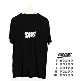Kaos distro sore cotton combed 30 s