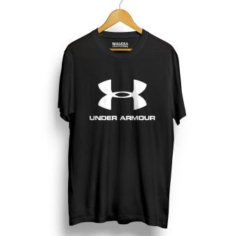 Kaos Distro Under Armour T-Shirt - Hitam