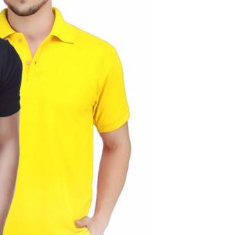 Kaos Kerah Polo Shirt Berkerah Polos Pria