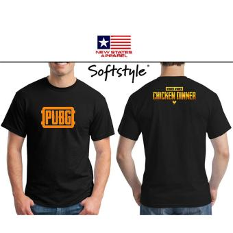 Kaos Players Unknown Battle Ground - Kaos PUBG- Termurah & Terlaris - Hitam ( BLACK