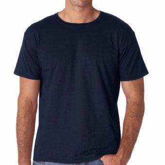 Kaos55 Kaos T-Shirt O-Neck Lengan Pendek - Biru Dongker