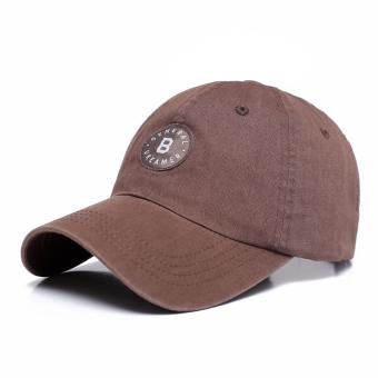 Kasual kapas pria musim panas topi baseball topi topi (PARK'S)