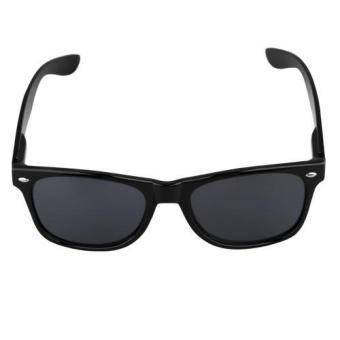 Kausal Hitam Bingkai Kacamata Hitam Pria