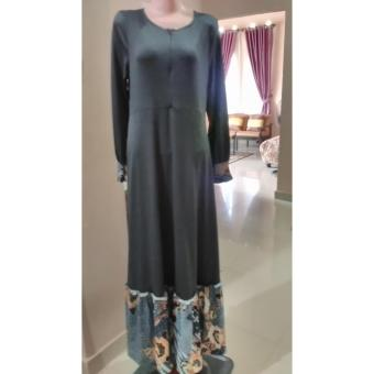 Kelebihan Model Baju Gamis Batik Kombinasi Brokat Terkini Daftar